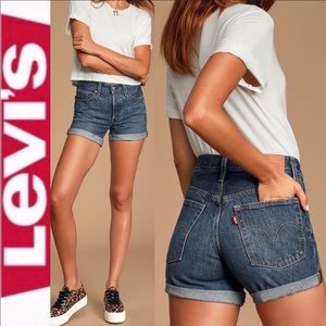 NEW NWT Levi's 501 Mid-Rise Jean Shorts Size 26